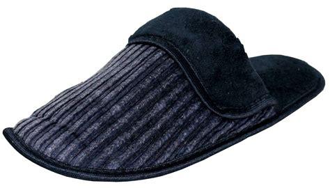 corduroy house slippers men s corduroy slip on backless house slippers w slight padded cushioning