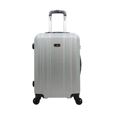 Tas Koper Polo Hoby Koper Fiber Abs Bagasi Size 24 Inch 705 Silver jual polo hc28117 bagasi fiber abs tas koper