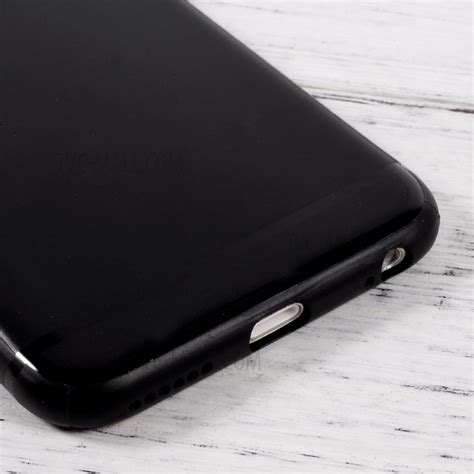 Iphone 7 Cover Soft Jelly Sarung Casing Black soft jelly tpu cell phone for iphone 6s 6 4 7 black tvc mall