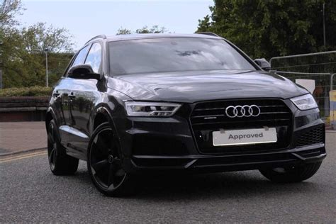audi s line black edition used 2017 audi q3 tdi quattro s line black edition for
