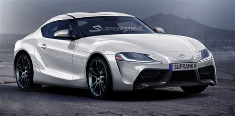 New Toyota New Toyota Supra Rendered