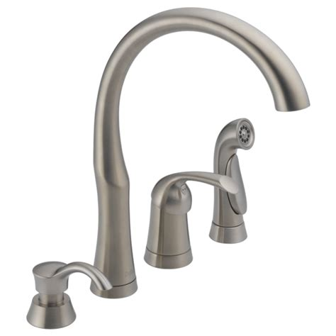 delta white kitchen faucets kitchen faucets fixtures and kitchen accessories delta