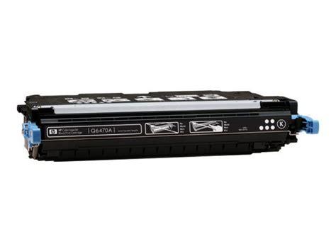 Toner Hp Q6470a hp 501a black toner cartridge 6000 pages q6470a ebuyer