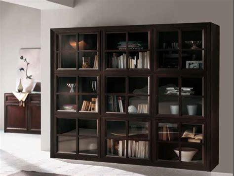 vetrina libreria vetrina libreria in legno massello ad 115
