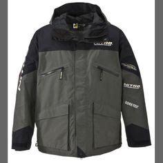 bass pro shops 174 100mph gore tex 174 light jackets for men - Nitro Boats Rain Gear