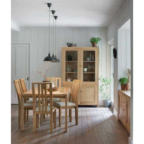 Ercol 1392 Padded Back Chair Ercol Bosco Dining Table