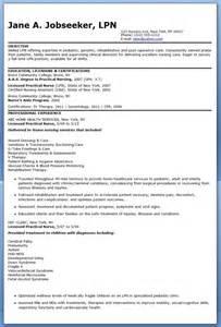 sle of lpn resume sle resumes