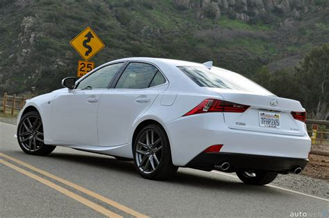 lexus is f sport 2015 2015 lexus is 350 f sport review autoweb