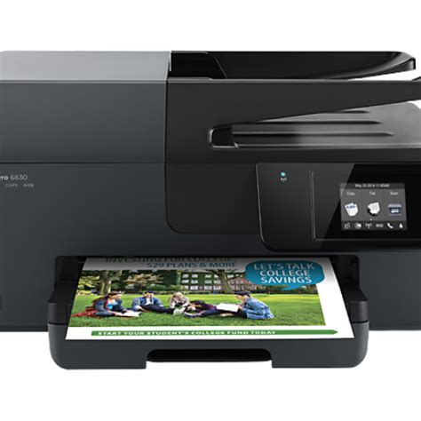 Printer Hp Officejet Pro 6830 E All In One hp officejet pro 6830 e all in one printer business complete solutions