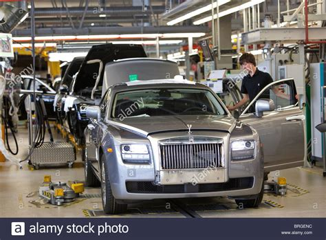rolls royce factory rolls royce factory in goodwood sussex uk production