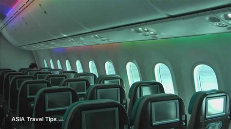 boeing 787 8 dreamliner interior and exterior tour