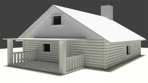 Create 3d Model Of Your House simple house 3d model blend