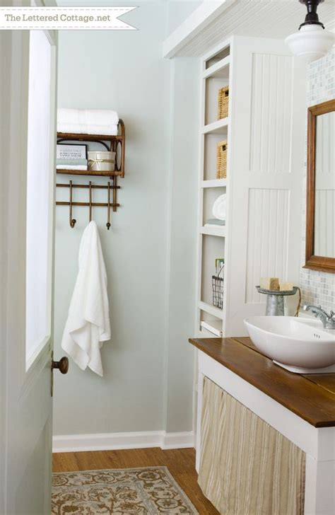 martha stewart bathroom ideas cottage bathroom the lettered cottage revealed september