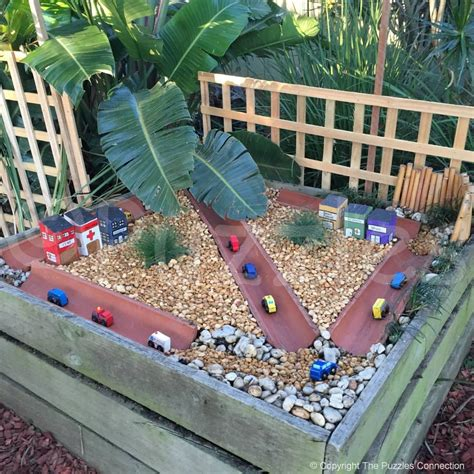 Garden Daycare Play Ideas Using Recycled Materials