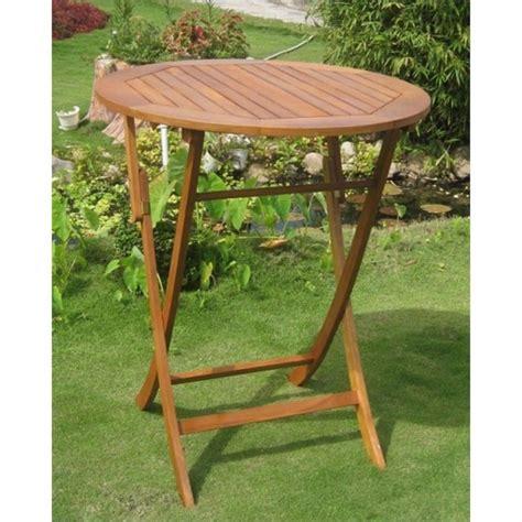 Patio Pub Tables by Folding Outdoor Patio Pub Table Tt Rt 030