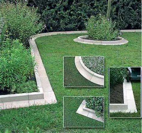 Landscape Edging Blocks Systems And Methods Best 25 Lawn Edging Ideas On