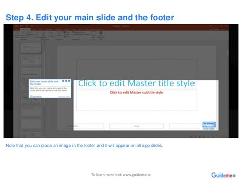 how to update footer in powerpoint how to update footer in powerpoint how to edit master