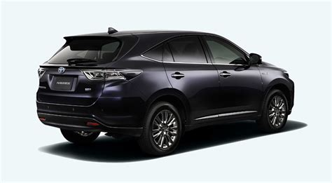 harrier lexus new model next lexus rx previewed with jdm toyota harrier autoblog