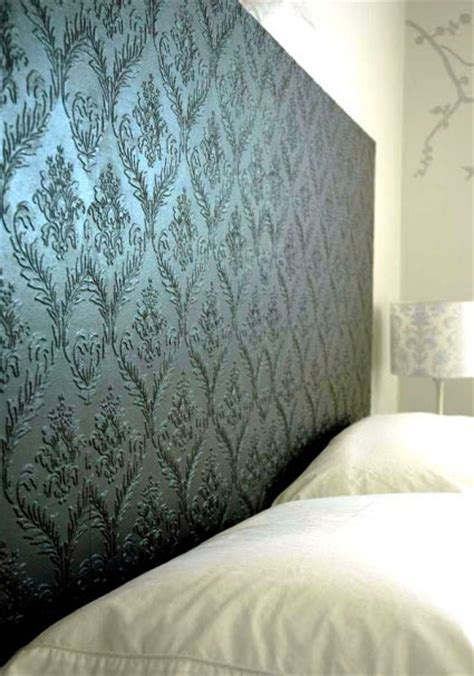 wallpaper headboard diy headboards creative ideas for your home