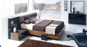 Modern Wooden Bed With Storage Designs Made In Spain Wood Modern Furniture Design Set With Extra