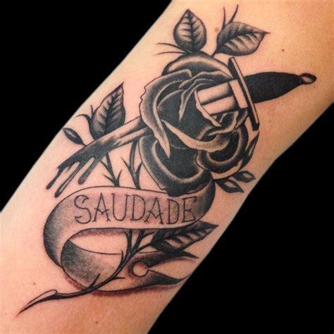 saudade tattoo 56 best tattoos impact custom traditional tattoos