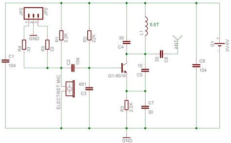 fm transmitter circuit using transistor how to make one transistor fm transmitter on a stripboard page 1 2 build circuit