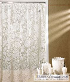 lace shower curtains on pinterest | shower curtains