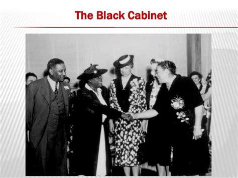 Black Cabinet Great Depression american history great depression