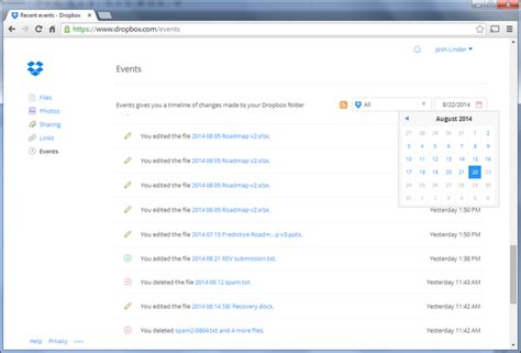 dropbox events dropbox cloud storage pricing and features overview