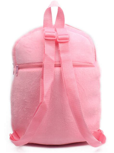 Backpack Baby Cat actionclub bow cat plush toys bag backpack children school bags for pink backpacks