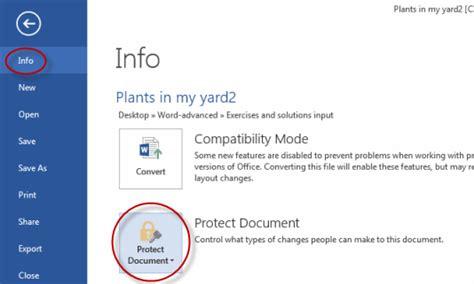 Saving A Document Tutorial Webucator - password protect word documents tutorial webucator