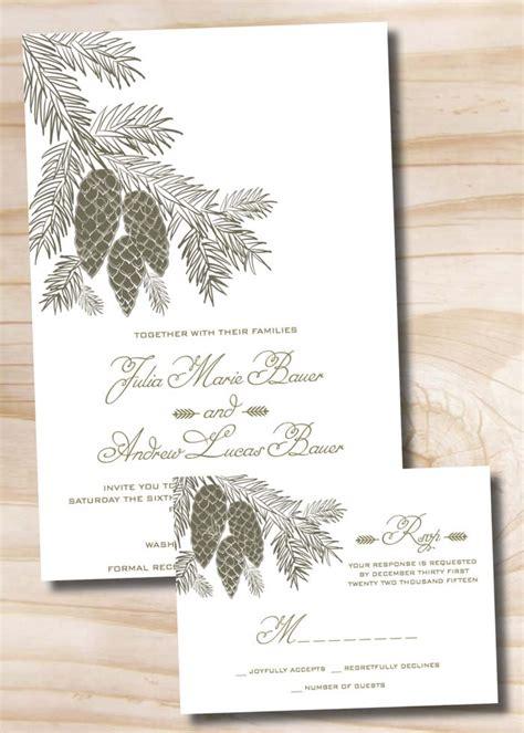 Winter Wedding Invitations by 12 Winter Wedding Ideas