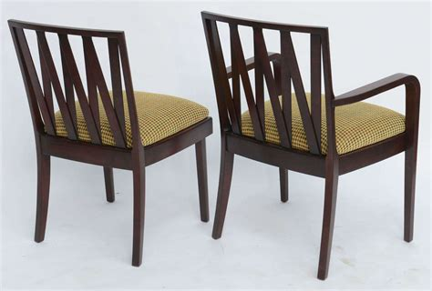 1940s Dining Room Furniture Classic 1940s Paul Frankl Dining Chairs For Johnson Furniture For Sale At 1stdibs