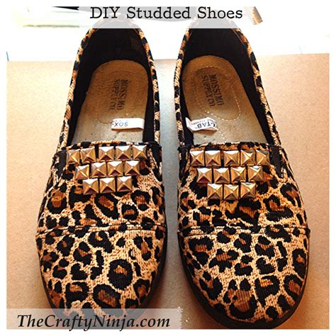 diy studded shoes diy studded shoes the crafty