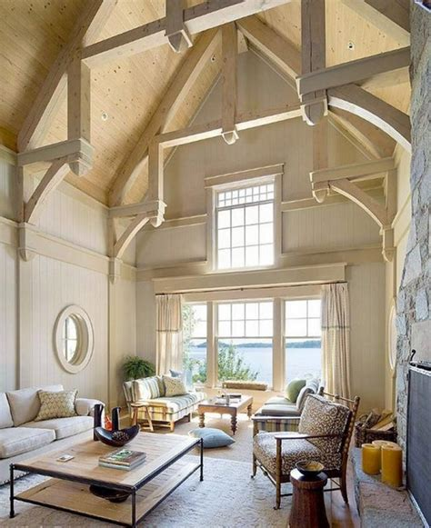 cathedral ceiling design best cathedral and vaulted ceiling designs in living rooms