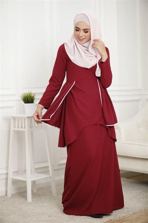 Baju Muslimah 9487 Sisuka Dress muslimah plus size dress