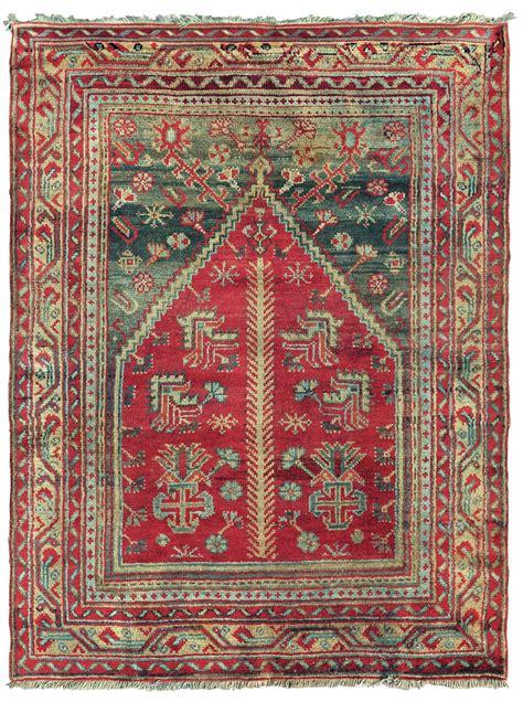 tappeto anatolico tappeto anatolico ushak a preghiera inizio xx secolo