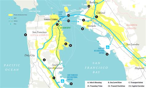 san francisco development map socketsite sf s push to bridge the bay and priortity