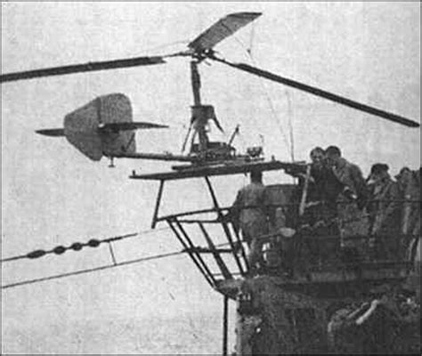 german u boat helicopter focke achgelis fa 330 bachstelze technical pages