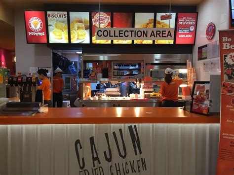 Louisiana Kitchen by Singapore Flyer Popeyes Counter Picture Of Popeyes