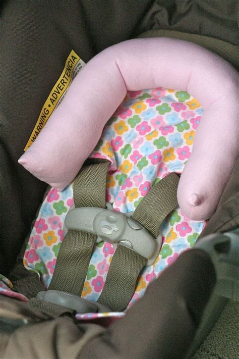 preemie car seat support infant car seat support aka no more wobbly
