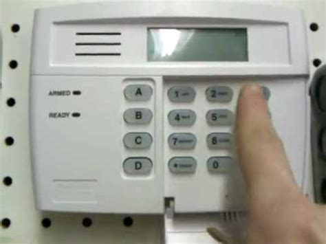 how to reset honeywell security system after alarm youtube