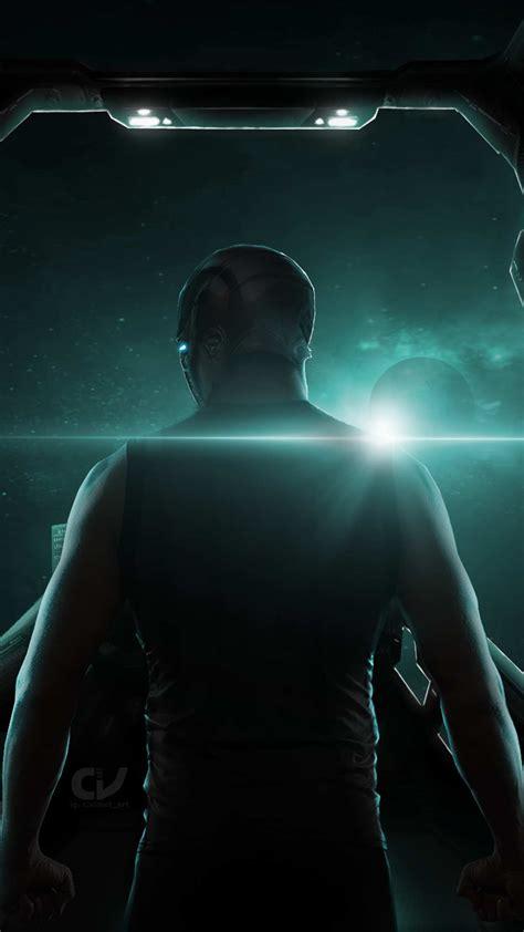 avengers endgame tony stark space iphone wallpaper