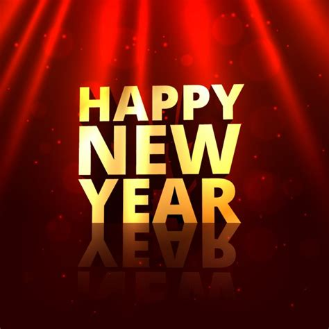 new year 2012 golden golden happy new year in background vector free