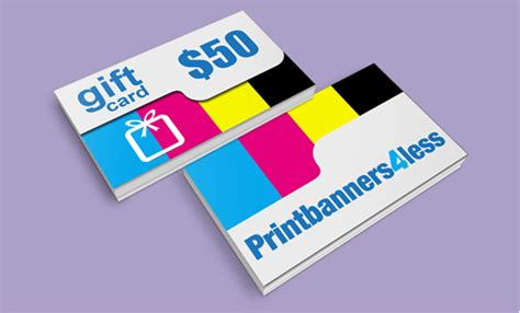 Physical Gift Cards - 50 physical gift card