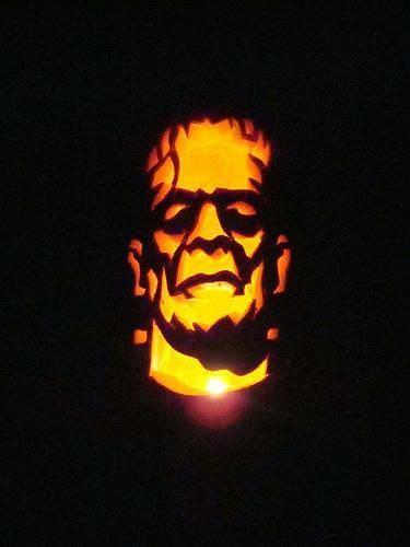 frankenstein pumpkin carving pumpkin carving pinterest