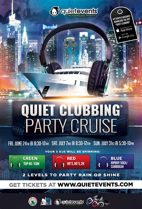 edm boat cruise nyc party cruise w circleline quiet clubbing quiet