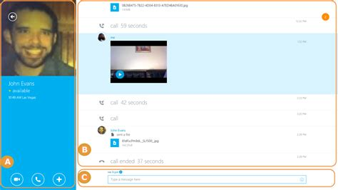 Searching For On Skype Finding Your Way Around Skype Skype For Modern Windows