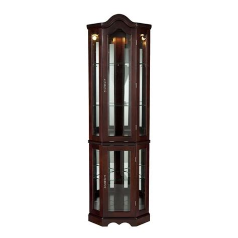 Lighted Curio Cabinet For Sale On Budget Display Cabinet