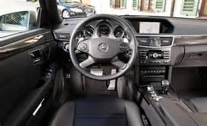 2010 mercedes e63 amg sedan interior photo